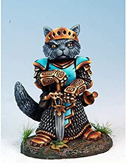 Nom Cat Paladin Miniature Critter Kingdoms Dark Sword Miniatures