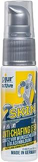 pjuractive 2SKIN - Anti-Chafing-Gel - Bli kvitt plåster för blåsor & skavsår för gott - osynligt & vattenfast hudskydd (20ml)