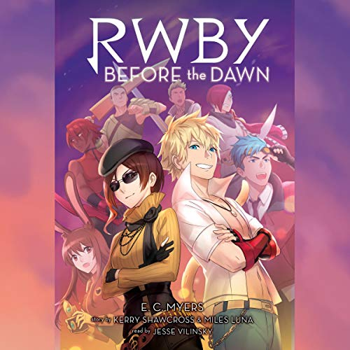 RWBY: Before the Dawn audiobook cover art
