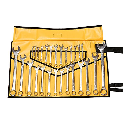 Schraubenschlüssel, 28 Taschen, HW, 100% gefärbte Baumwolle, BT 18-404, gelb, XL