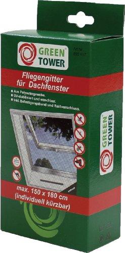 Unimet Fliegengitter-895457, schwarz, 180 x 150 x 5 cm, UM895457