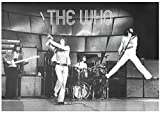 Generic The Who Live On Stage Musik Poster Druck, Unframed,