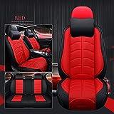 Cubierta de silla de coche para Usado para Cubierta del asiento del coche for la cubierta de asiento de cuero deportivo for Mitsubishi Todos los modelos ASX Lancer Sport Ex Zinger Fortis Outlander Gra