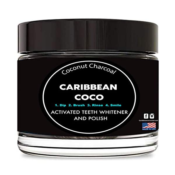Caribbean Coco Teeth Whitening Toothpaste Powder