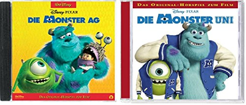 2 CDs - Die Monster AG / Die Monster Uni - Die Original Hörspiel zum Film im Set - Deutsche Originalware [2 CDs]