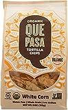 Que Pasa, Tortilla Chips White Corn Organic, 11 Ounce