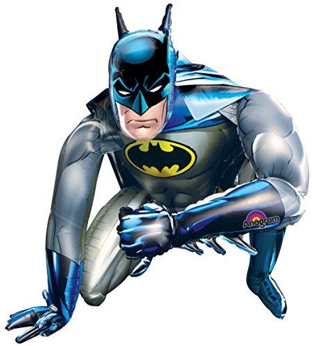 Amscan International Globo de Aluminio de 91 cm de Batman Airwalkers, Color, Balloon Only (2347901)