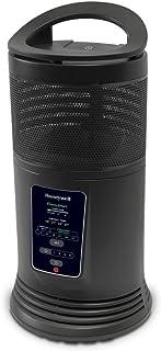 Honeywell HZ 435 E2 Calefactor cerámico envolvente 360º, 1800 W, Negro