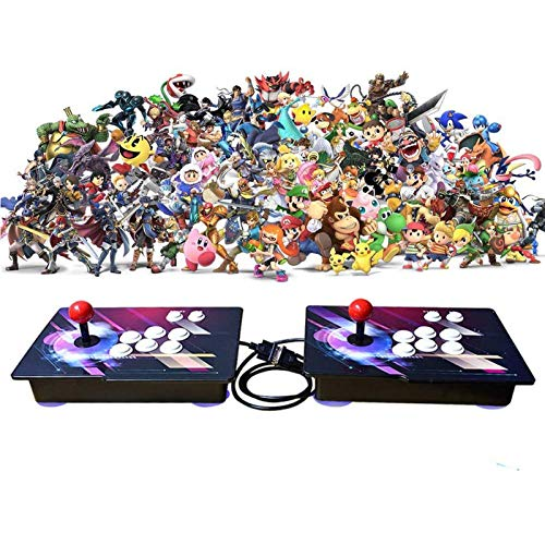 MOSTOP 3D & 2D Arcade Video Game Console 2680 Games in 1 Pandora's Box 180 3D Games 1080P HD 2 Players Arcade Machine with Double Joystick Support...