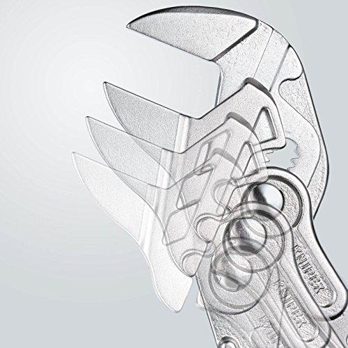 Knipex Zangenschlüssel – Greifzange und Schraubenschlüssel, 250 mm, Greifweite bis 46 mm - 6