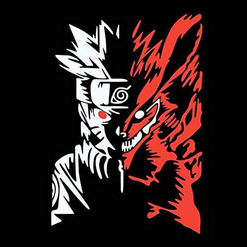 SGOT Naruto Aufkleber, wasserdichte Vinyl Decal, Anime Stickers für Gepäck, Skateboard, Laptop, Auto, Große Größe(Style 02 (20x14cm))