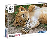 Clementoni - WWF Puzzle 250 Piezas, so Cute Lion (29745)