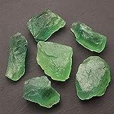 QWEQWE Cuarzo Natural Cuarzo Cristal DE Piedra DE Cristal DE Piedra CASA DE Piedra DE CASA DE Mineral DE Decoración del Acuario (Color : Green Fluorite, Size : 35-40g (1pcs))