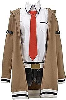 HonRmon Women's Costume Steins GATE Makise Kurisu Cosplay Costume Uniform