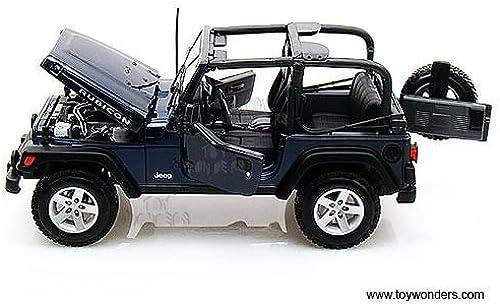 se descuenta 31663bu Maisto - - - Jeep Wrangler Rubicon (1 18, azul) 31663 Diecast Car Model Auto Vehicle Die Cast Metal Iron Toy Transport by carautoveh  mejor marca