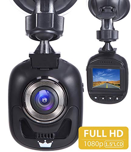 Forme Dashcam Autokamera Full HD 1080P Video Recorder mit 170° WDR 3