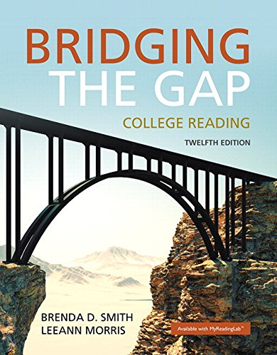Bridging the Gap Plus MyLab Reading with Pearson eText -- Access Card Package (12th Edition)