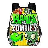 Plants vs. Zombies Mochila para nios Moda Ocio Mochila Impresin de Dibujos Animados Mochila Bolsa de Viaje Mochila Escolar (Color : A32, Size : 29 X 17 X 40cm)