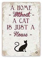 Pet Cute Love Multi Colour Kitty ティンサイン ポスター ン サイン プレート ブリキ看板 ホーム バーために