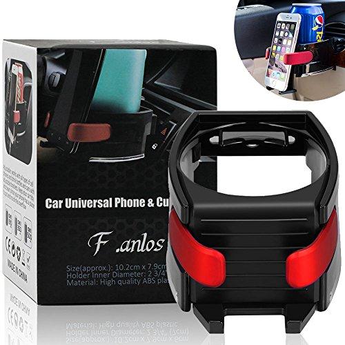 Auto Getränkehalter,Multifunktion Getränkehalter,Getränkehalter Air Cooler / Heater, Auto Lüftungshalterung Handyhalterung,Getränkedosen, geeingnet für alle phone