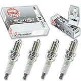4 pcs NGK V-Power Spark Plugs for 1992-2001 Acura Integra 1.7L 1.8L L4 - Engine Kit Set Tune Up
