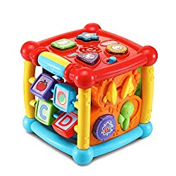 VTech Busy Learners Activity Cube - Best Toys for 1 year old Boys