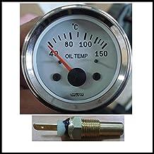 Veethree Water Temperature gauge Marine Arctic WITH Temperature Sender