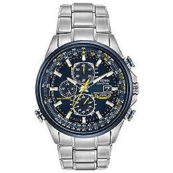 Citizen Men's AT8020-54L Eco-Drive Blue Angels World Chronograph A-T Watch Reviews