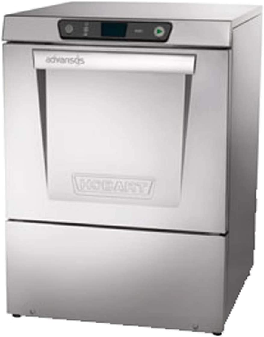 Hobart Recommendation LXER+BUILDUP Stainless Steel Dishwasher Purchase Temp High w Boost