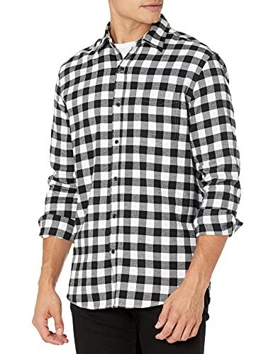 Amazon Essentials Men's Regular-Fit Long-Sleeve Flannel...