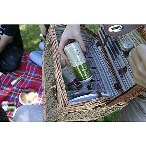 バロークススパークリングワイン白シャルドネ/セミヨン缶ワイン[250ml×4本]