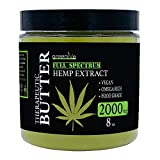 GreenIVe - Hemp Extract Butter - All Natural - Hemp Extract Butter - Exclusively on Amazon (2,000mg Hemp Extract 8 Ounce)