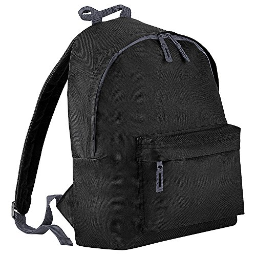 Bagbase Fashion Backpack/Rucksack (18 Litres) (One Size) (Black)