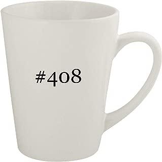 #408 - Ceramic 12oz Latte Coffee Mug
