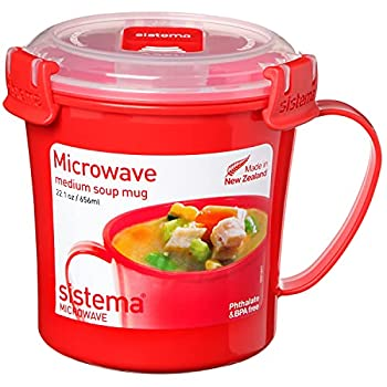 Best microwave mug with lid Reviews