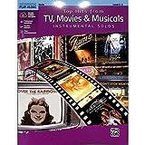 TOP HITS FROM TV MOVIES + MUSICALS - arrangiert für Violine - mit Online Audio [Noten/Sheetmusic]