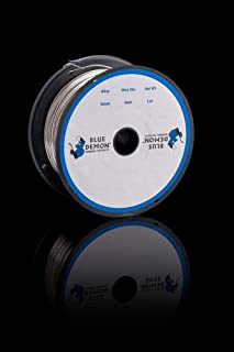 308LSI .030 MIG 2 lb Spool Stainless Steel Welding Wire Blue Demon
