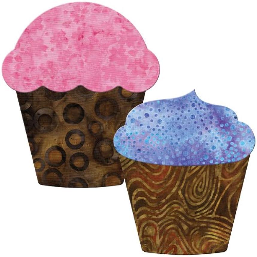 AccuQuilt GO! Fabric Cutting Dies, Cupcake