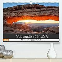 Suedwesten der USA - Atemberaubende Landschaften (Premium, hochwertiger DIN A2 Wandkalender 2022, Kunstdruck in Hochglanz): Der Suedwesten der USA hat unzaehlige einzigartige Naturwunder und Landschaften zu bieten. (Monatskalender, 14 Seiten )