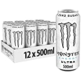 Monster Energy Ultra 500 ml - Pack 12 unidades