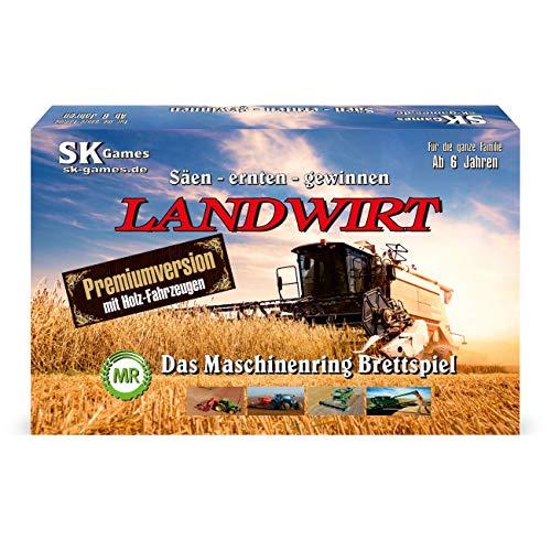 Stefan König Landwirt - Das Maschinenring Brettspiel (Premium Edition)