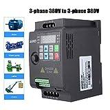 Convertitore di Frequenza, Trasformatore VFD Velocità Controllato Variatore di Frequenza Inverter AC 220/380 SKI780(380VAC,0.75KW)