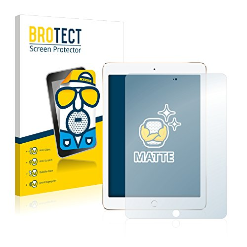 BROTECT 2X Entspiegelungs-Schutzfolie kompatibel mit Apple iPad Air 2 Displayschutz-Folie Matt, Anti-Reflex, Anti-Fingerprint