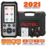 Autel 4 System Scanner MD806 Car Diagnostic Tool Diagnoses for ABS, Engine, Transmission, SRS Full OBD2 Functions Car Scanner for Both Mechanics and DIYers
