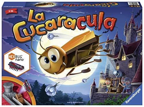 Ravensburger 22336 La Cucaracula, Juego de Mesa, 2-4 Jugadores, Edad 6+, Version en Español