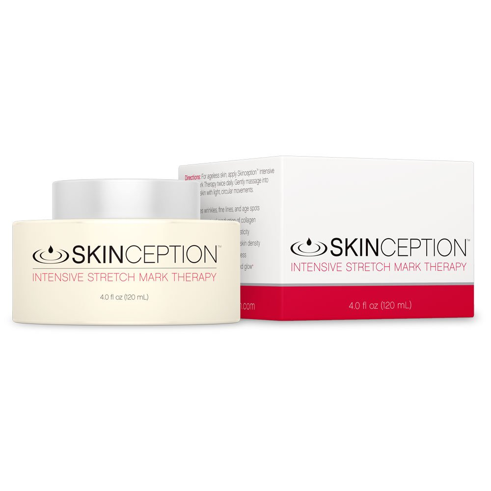 Skinception Intensive Stretch Mark Cream Therapy, 4 Fluid Ounce