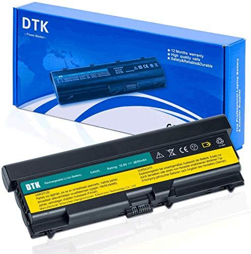 DTK® Ultra Hochleistung Notebook Laptop Batterie Li-ion Akku für Lenovo IBM Thinkpad E40 E50 0578 E420 E425 E520 E525 L410 L412 L420 L421 L510 L512 L520 Sl410 Sl510 T410 T420 T510 T520 10.8V 6600MAH