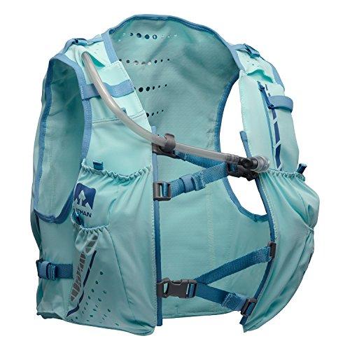 Nathan NS4538 Vaporhowe Hydaration Pack Running Vest with 1.8L Bladder, Blue Radiance, Large