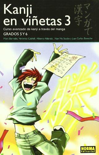 Kanji en Vinetas 3: Curso avanzado de Kanji a través del Manga / Advanced Course Through the Manga Kanji