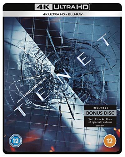 Tenet [Amazon Exclusive Limited Edition Steelbook] [4K Ultra HD] [2020] [Blu-ray] [Region Free]